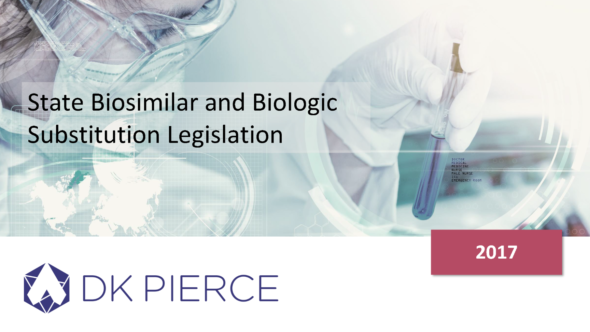 State Biosimilars and Biologic Substitution Legislation