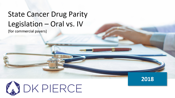 State Cancer Drug Parity Legislation – Oral vs. IV